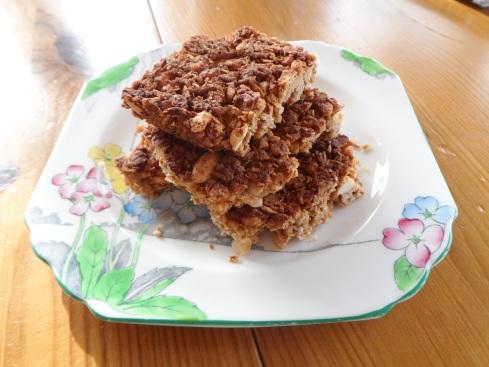 Tasty homemade snack bars